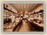 Caldwell Fidler in his store in Davidson (in the space where Toast is now) ~1915