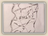 Map of fire district Lemley (before Lake Norman).